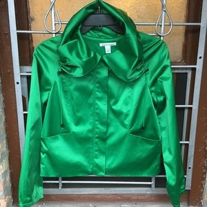 Kenneth Cole NY kelly green statement jacket small